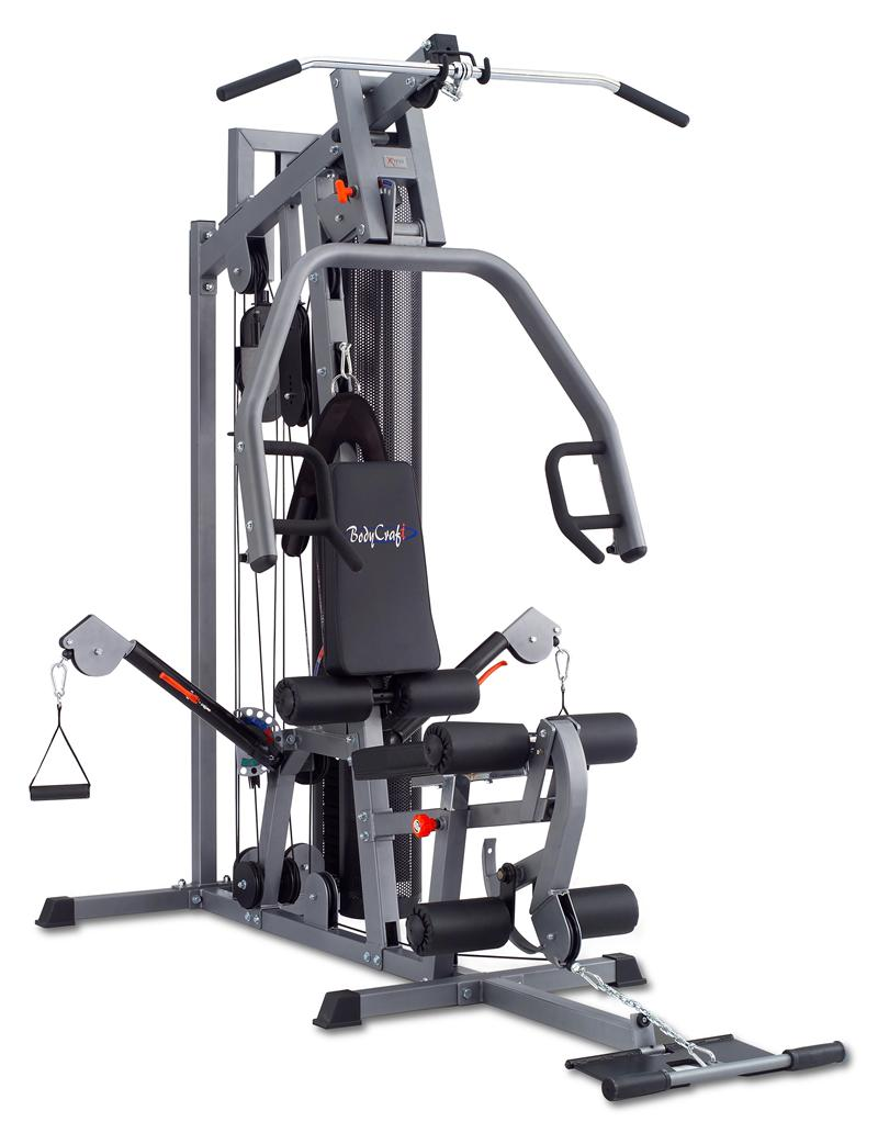Bodycraft xpress pro home gym optional leg press