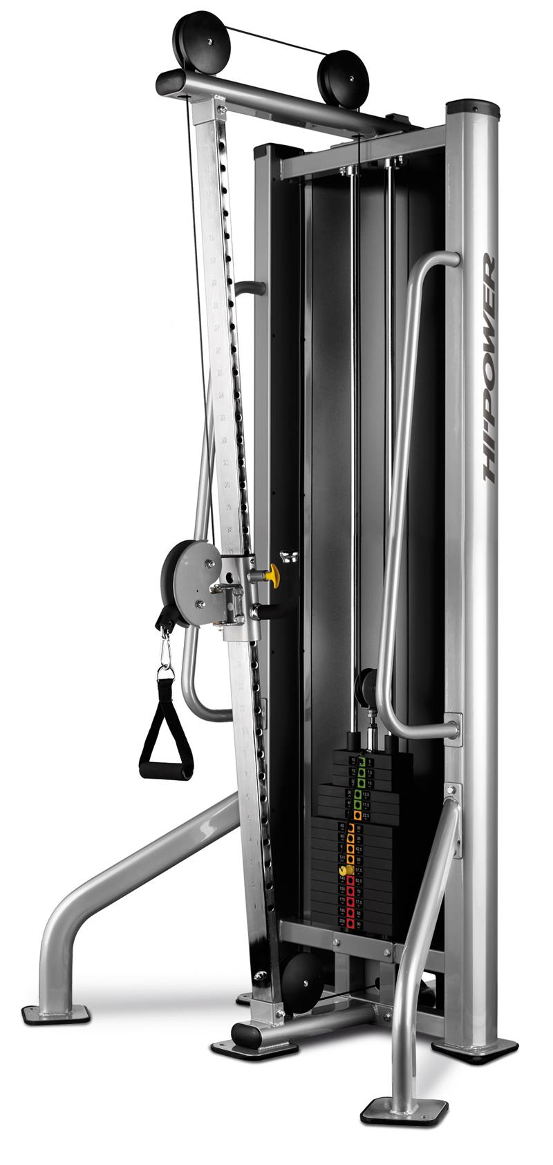 adjustable pulley machine